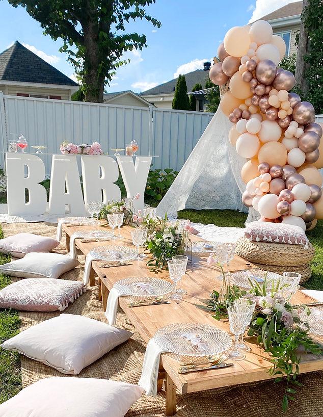 Backyard Baby Shower