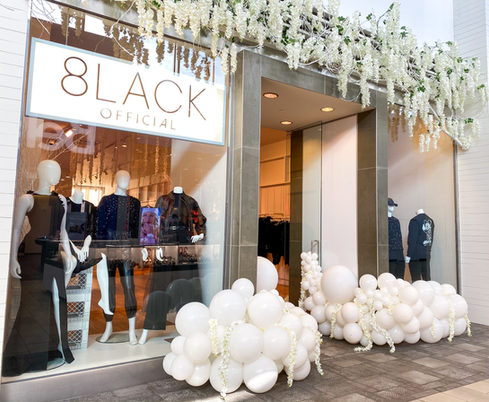 8lack Official Store Opening at Carrefour Laval