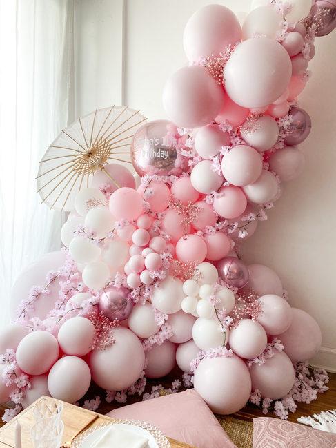 Sakura (Cherry Blossom) themed birthday