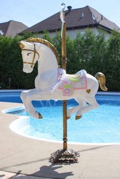 Marshmallow - Carousel Horse/Unicorn