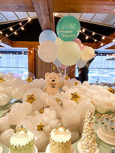 Bob the Bear - Baby Shower at Ristorante Beatrice