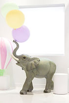 montreal party rentals, balloons, luxury balloons, elephant