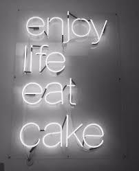 EAT CAKE NEON