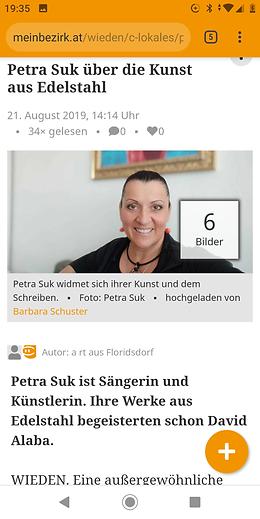 Bezirkszeitung Interview