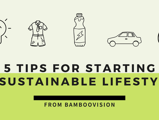 5 Tips for Starting a Sustainable Lifestyle