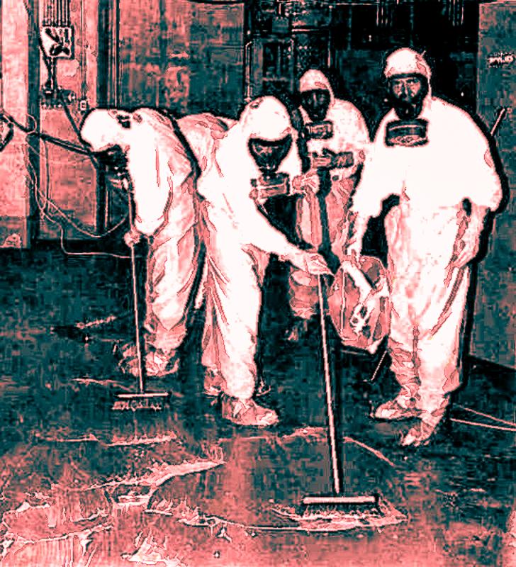 Original 1979 clean-up crew at TMI.