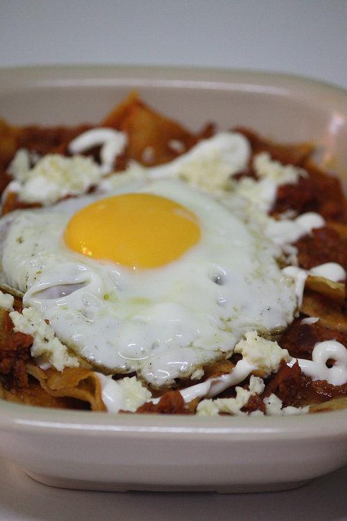 ChilaKiles con huevo