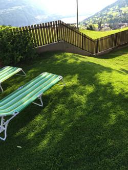 Relaxen im Bienenheim Garten