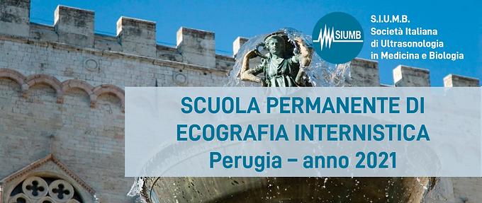 Scuola Permanente di Ecografia Internistica Perugia - 2021
