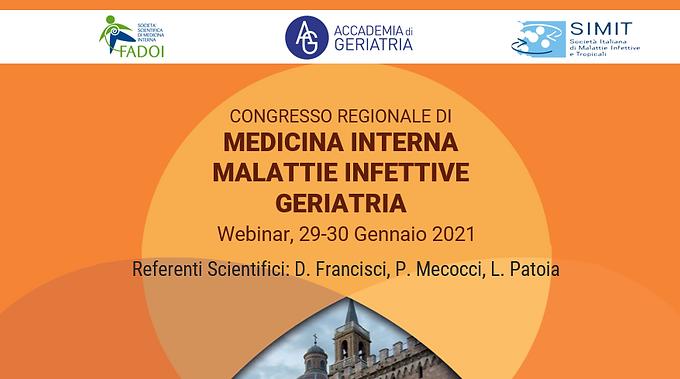 Congresso Regionale di Medicina Interna-Malattie Infettive-Geriatria
