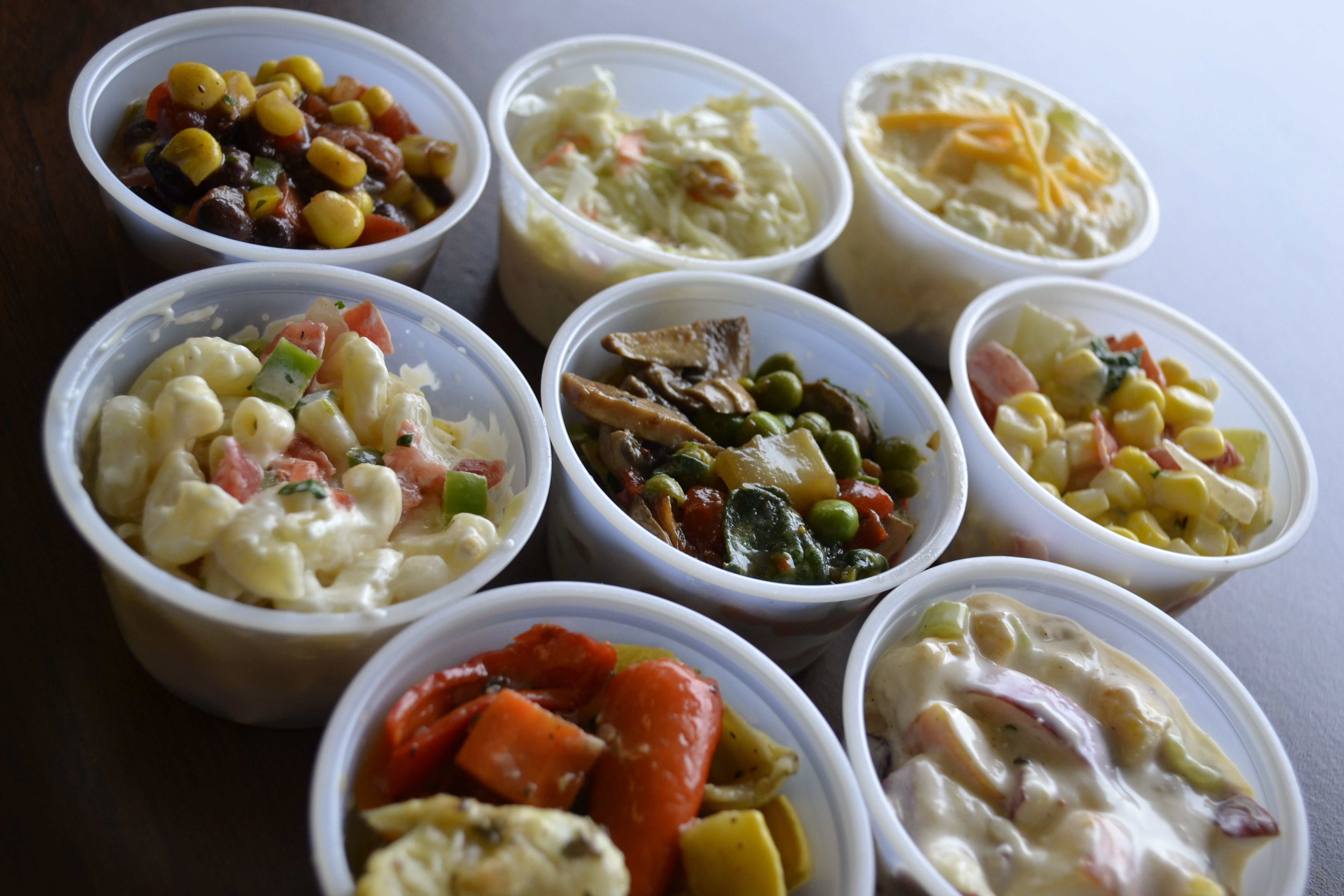 Various Side Salads