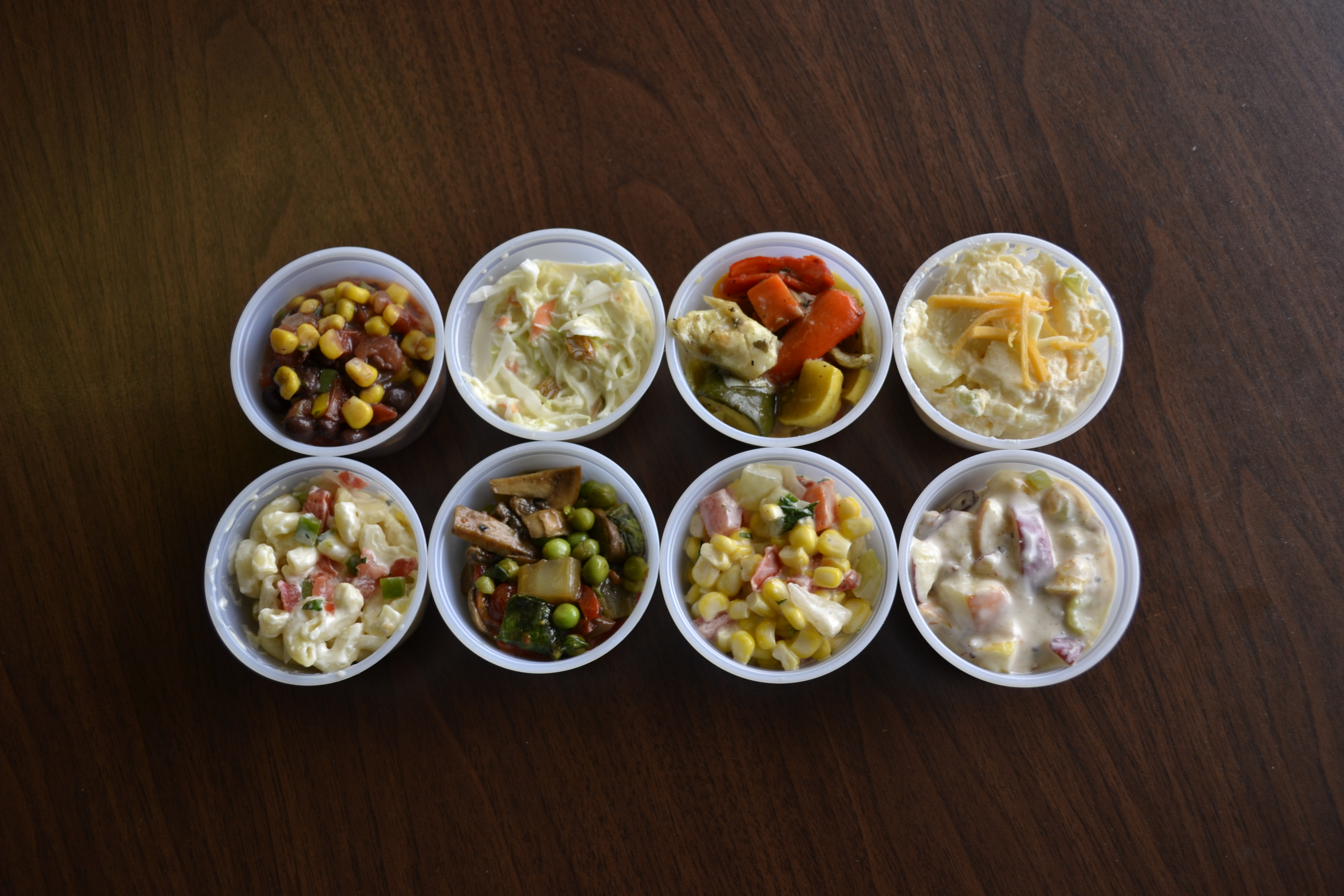 Various Side Dishes to Choose
