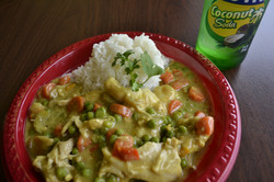 Curried Chicken and Basmati Rice