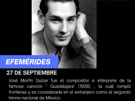 "Aniversario luctuoso del compositor ""Pepe Guízar"""