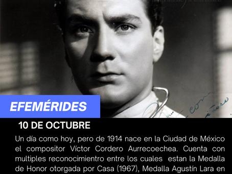 Aniversario del natalicio de Víctor Cordero Aurrecoechea