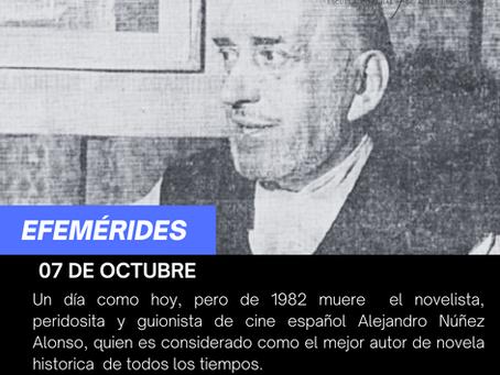 Aniversario luctuoso del guionista de cine español Alejandro Núñez Alonso