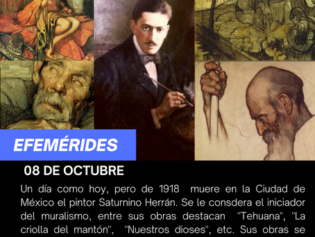 aniversario luctuoso del pintor Saturnino Herrán