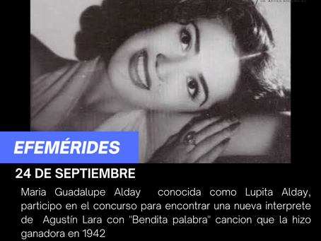 Aniversario Luctuoso de Lupita Alday