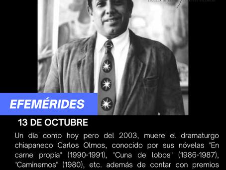 Aniversario luctuoso de Carlos Olmos