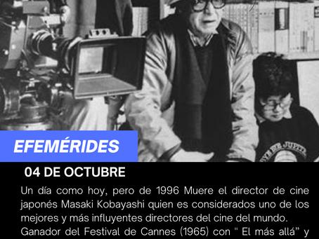 Aniversario luctuoso del director  de cine  Japonés Masaki Kobayashi