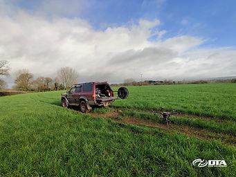 Solar-Farm Construction Site Drone Topographical Land Survey - Devon