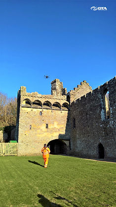 Heritage Site Drone & MAST Structural Inspection - West Wales