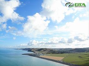 Drone Aerial Photography & Video - Aberystwyth, Ceredigion, Mid Wales.