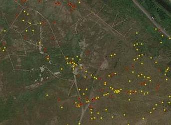 Example of Drone Methane Gas Survey Output
