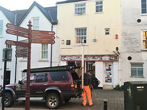 4x4 Elevated Mast Building & Roof Inspection - Chepstow, South Wales
