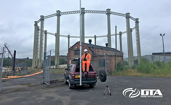 DTA 4x4 Mounted Elevated MAST Inspections - Salisbury Wiltshire