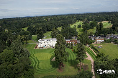 Golf Course Promotional Aerial Photography Burhill Golf Club, Walton-On-Thames, Surrey
