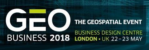 Drone Tech Aerospace attends GEO Business 2018, London, United Kingdom.