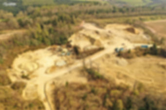 Drone Topographical Land Survey Quarry - Devon