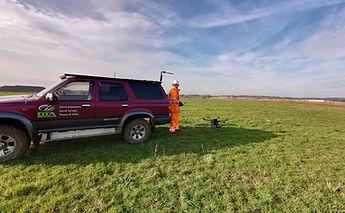 Denham Construction Drone Topographical