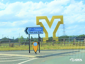 Yorkshire Gateway Sculpture - Doncaster.