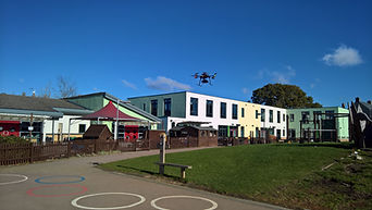 Drone Roof Inspection - Take-off  - Swindon, Wiltshire