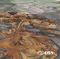 Topographical Land Drone Surveys - Quarries & Mines