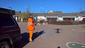 Drone Roof Inspection - Take-off Sequence #1 - Swindon, Wiltshire