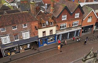 Arcade House - Newbury - shopfront - Nov