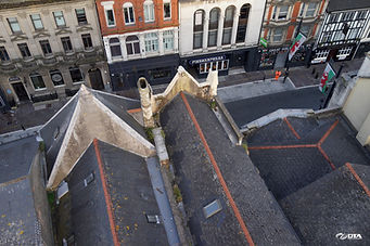Drone Roof Inspection - Inner City - Cardiff