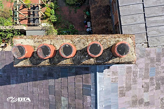 Drone Chimney & Roof Inspection Services -Monmouth, South Wales
