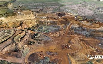 Quarry Topographical Drone Survey Service - Milton Keynes