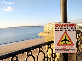 Drone Commercial Roof Inspection - Tenby, Pembrokeshire, West Wales