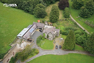 Measured Building Survey- Aerial Drone plus Terrestrial Laser Scanner - Llandrindod Wells, Powys
