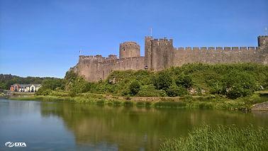 Pembroke Castle - Pembrokeshire - West Wales