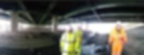 Drone RFID Bridge Inspection Test Project - Dartford, Kent