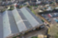 Industrial Roof Inspection Using Aerial Drones & Elevated MASTs - Crewkerne, Somerset, South West