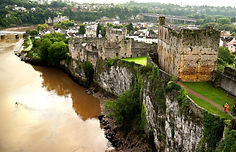 Heritage Site Drone & MAST Structural Inspection - Chepstow, South Wales