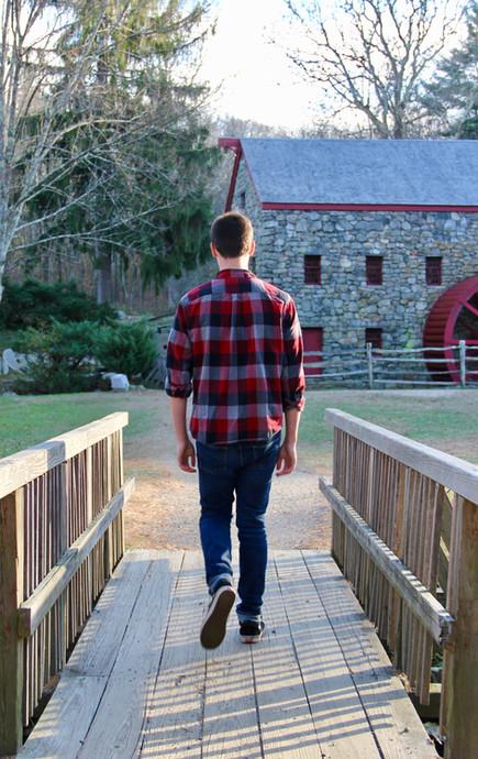 Noah.walking away