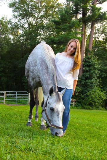 Amanda.Vert.Horse in white